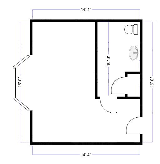 floor plan small room