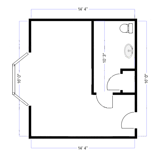 floor plan small room